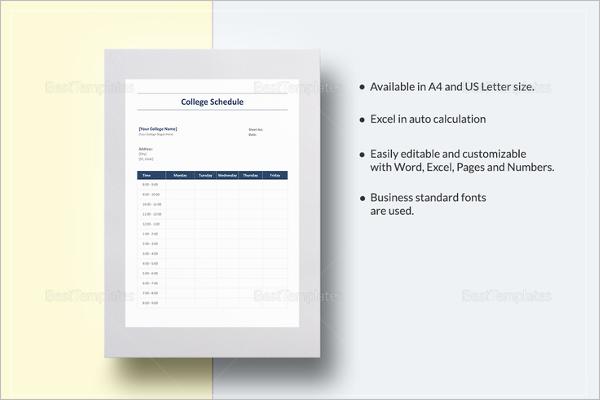 Weekly Homework Planner PDF