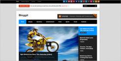 WordPress Grid Blog Template