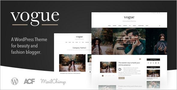 WordPress Lifestyle Blog Theme