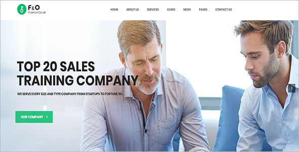 WordPress Theme For Financial Advisor