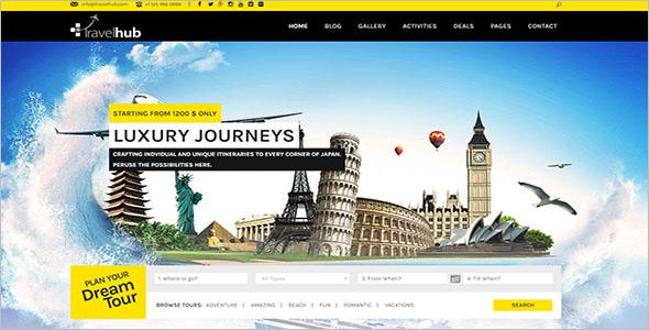 WordPress Travel Theme for Agencies