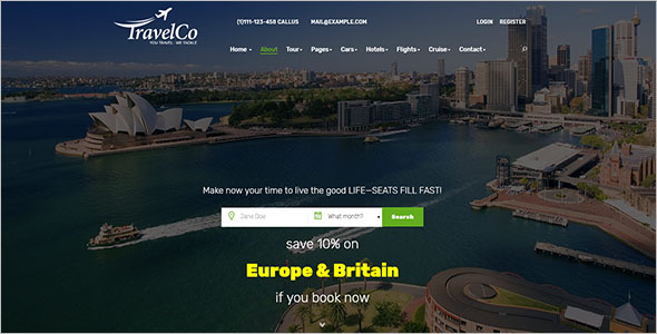 World Travel HTML Template