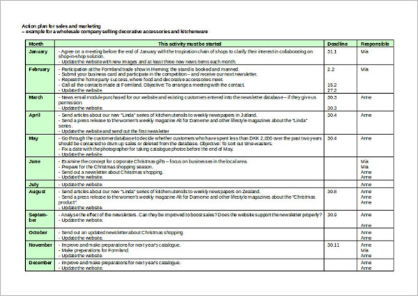 22 sales strategy templates free pdf ppt word excel examples