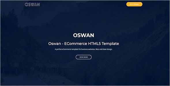 eCommerce Bike Store Website Template
