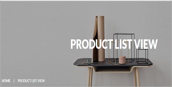 eCommerce Furniture Magento Theme
