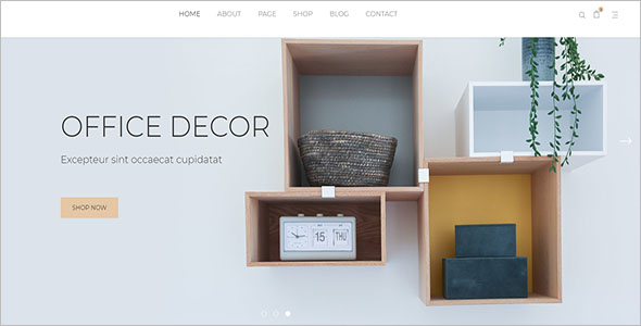 eCommerce Retail Blog Theme