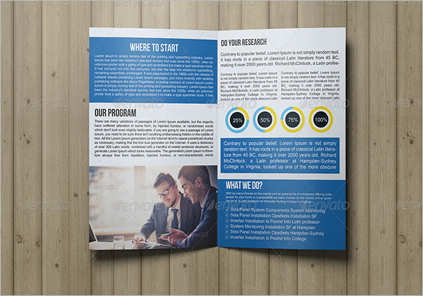 2 Fold Video Brochure Template