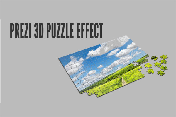 3d puzzle prezi background template