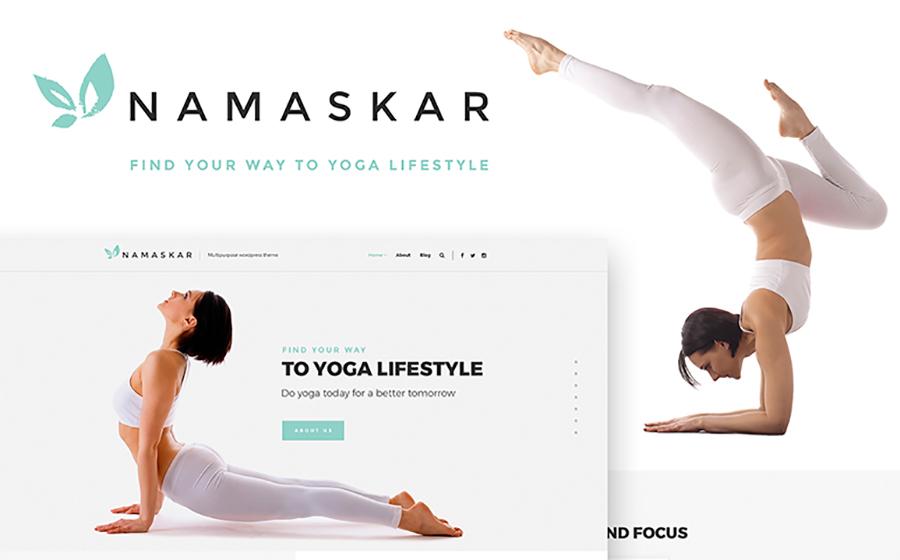 Namaskar - Yoga WordPress Theme