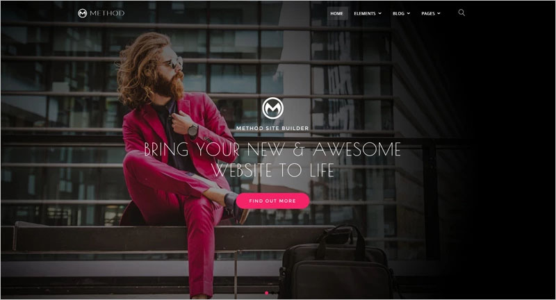 A Huge Multi-Concept WordPress Theme