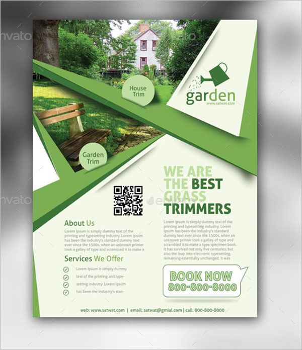 AI Lawn Care Flyer Template