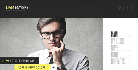 Academic Writer HTML5 Template