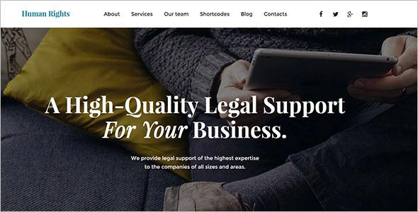 Accounting Website WordPress Theme