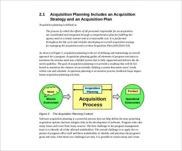 Acquisition Strategy Template PPT