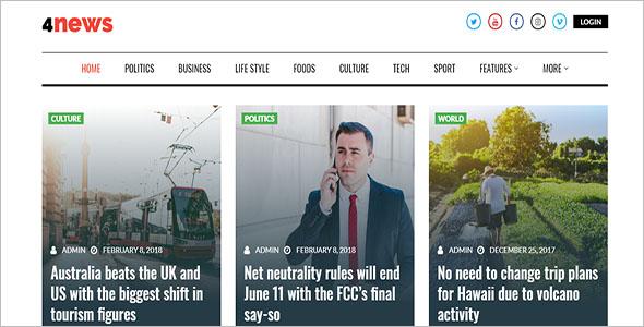 Advanced WordPress Newspaper Theme