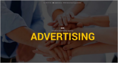 Advertising Drupal Templates