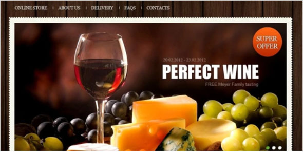 Alcohol Store VirtueMart Template