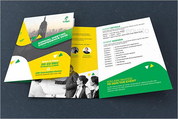 Annual Conference Brochure Design