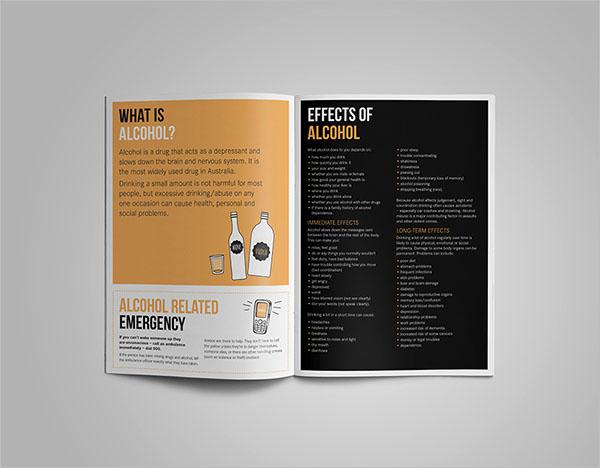 Anti Drug Brochure Template
