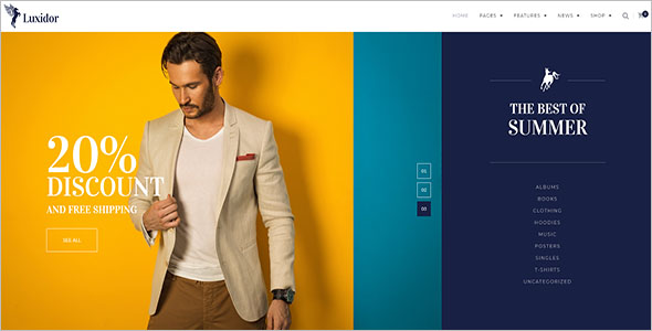 Apparel Fashion Woocommerce Template