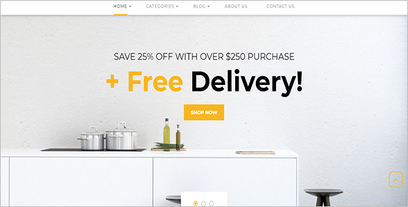 Architecture Design Woocommerce Template
