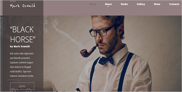 Author HTML5 Template