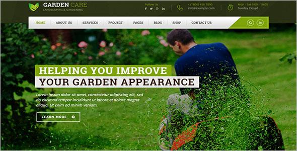Awesome Landscaping WordPress Theme