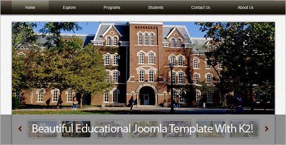 Awesome University Joomla Theme