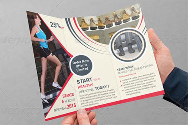 Basketball Brochure Design PSD