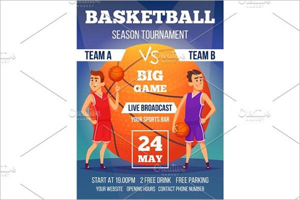 Basketball Brochure Example