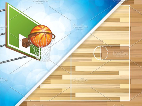 Basketball Brochure Facts Template