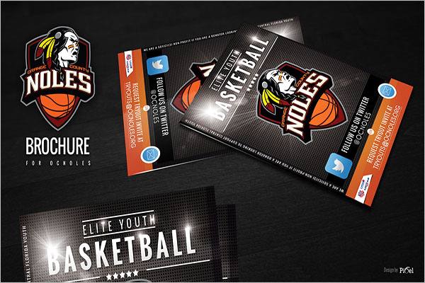 Basketball Brochure Template Free Download