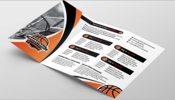 Basketball Brochure template