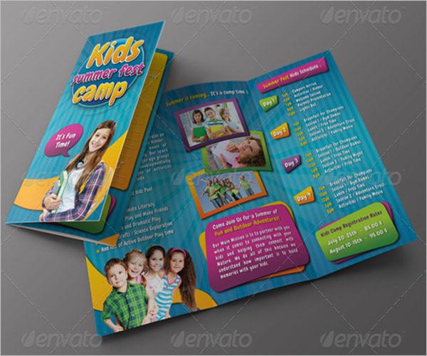 Basketball Camp Brochure Template
