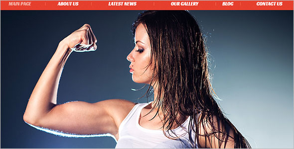 Beauty & Fitness Joomla Theme