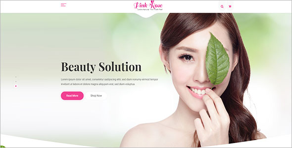 Beauty & Hair Salon HTML5 Template