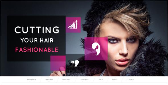 Beauty Salon Bootstrap Template