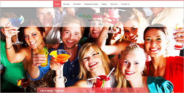 Best Birthday Website Template