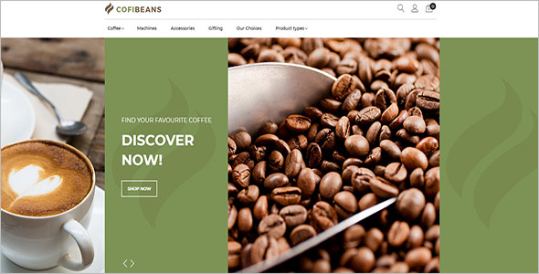 Best Coffee Shop Magento Template