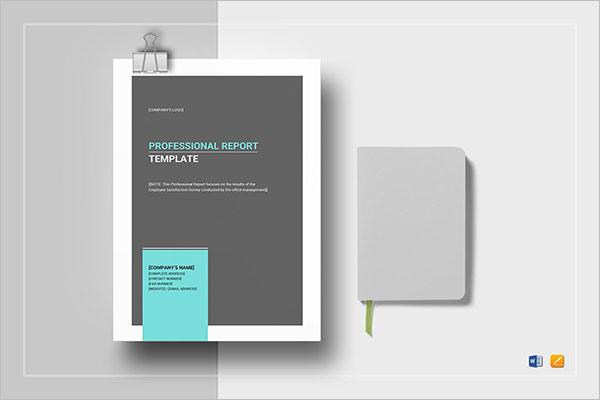 Best Financial Report Template