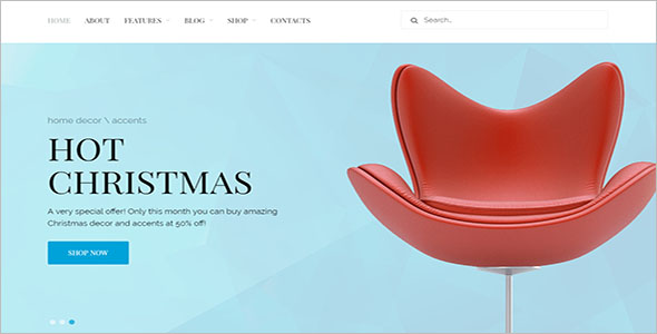 Best Home Decor Woocommerce Template