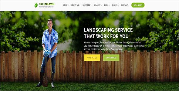 Best Landscaping Blog Template