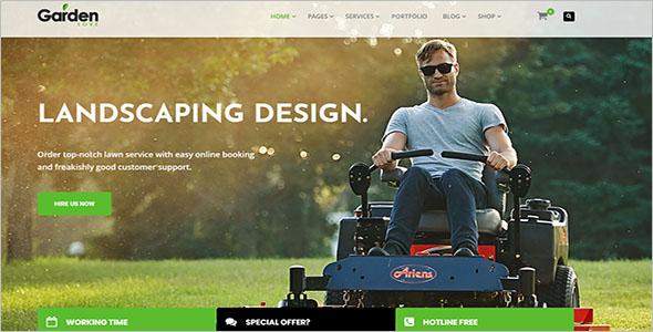 Best Landscaping WordPress Theme