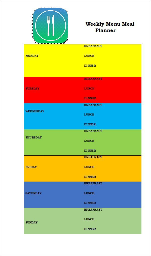 Best Meal Planning Template