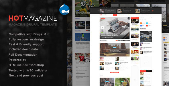 Best News Drupal Theme