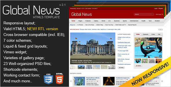 Best News Portal Blog Template