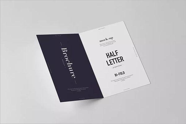 Bi-Fold Half Letter Brochure Design