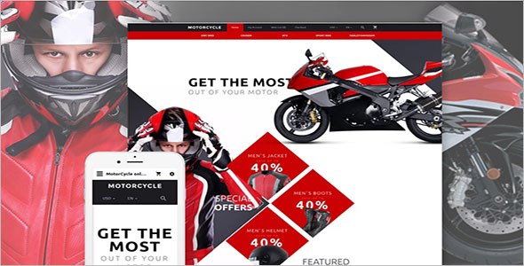 Bike Store Open Cart Template