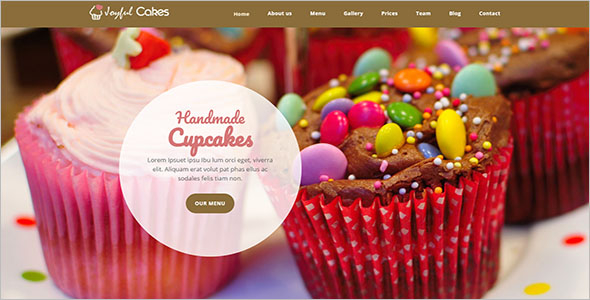 Birthday Event Website Template