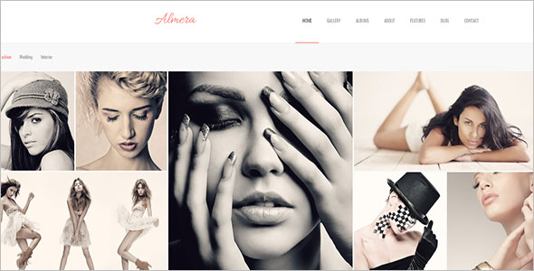 Birthday Portfolio Site Template